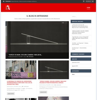 Il nuovo blog di Artesegno